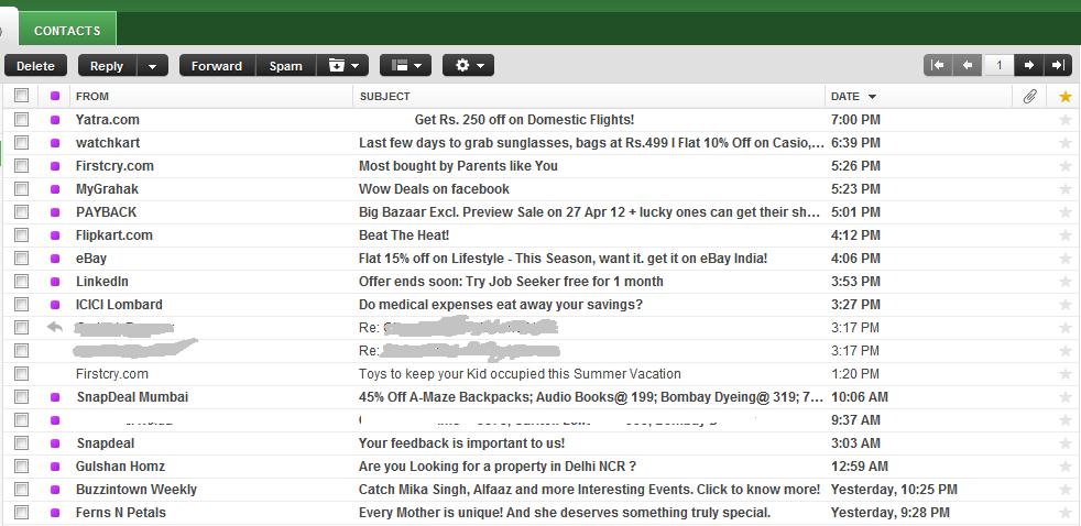 ecommerce mails